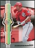 2007 Upper Deck Ultimate Collection #50 Ryan Zimmerman /450