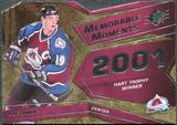 2008/09 Upper Deck SPx Memorable Moments #MMJS Joe Sakic