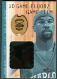 2001/02 Upper Deck Hardcourt UD Game Film/Floor #BDF Baron Davis