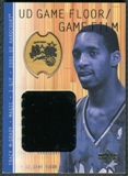 2001/02 Upper Deck Hardcourt UD Game Film/Floor #TMF Tracy McGrady