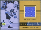 2001/02 Upper Deck Legends Jerseys #TTBT Bryan Trottier