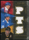 2007/08 Upper Deck OPC Premier Rare Remnants Triples Gold #PTSOH Peter Stastny Adam Oates Dale Hawerchuk /35