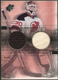 2000/01 Upper Deck SPx Winning Materials #MB Martin Brodeur SP Jersey Stick