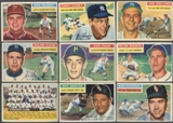 1956 Topps Baseball Lot of 88 Cards (75 Different) VG