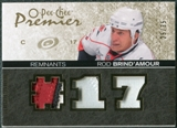 2007/08 Upper Deck OPC Premier Remnants Triples Patches #PRBR Rod Brind`Amour /35