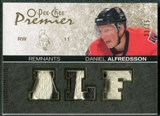 2007/08 Upper Deck OPC Premier Remnants Triples Patches #PRDA Daniel Alfredsson /35