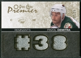 2007/08 Upper Deck OPC Premier Remnants Triples Patches #PRDE Pavol Demitra /35