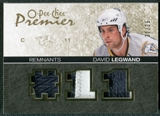 2007/08 Upper Deck OPC Premier Remnants Triples Patches #PRDL David Legwand /35