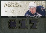 2007/08 Upper Deck OPC Premier Remnants Triples Patches #PRIK Ilya Kovalchuk /35