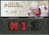 2007/08 Upper Deck OPC Premier Remnants Triples Patches #PRJW Justin Williams /35