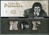 2007/08 Upper Deck OPC Premier Remnants Triples Patches #PRLR Larry Robinson /35