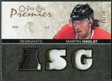 2007/08 Upper Deck OPC Premier Remnants Triples Patches #PRMA Martin Havlat /35