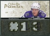 2007/08 Upper Deck OPC Premier Remnants Triples Patches #PRMC Mike Cammalleri /35
