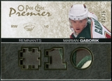 2007/08 Upper Deck OPC Premier Remnants Triples Patches #PRMG Marian Gaborik /35