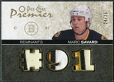 2007/08 Upper Deck OPC Premier Remnants Triples Patches #PRMS Marc Savard /35