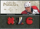 2007/08 Upper Deck OPC Premier Remnants Triples Patches #PRNH Nathan Horton 20/35
