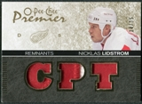 2007/08 Upper Deck OPC Premier Remnants Triples Patches #PRNL Nicklas Lidstrom /35