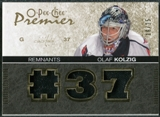 2007/08 Upper Deck OPC Premier Remnants Triples Patches #PROK Olaf Kolzig /35