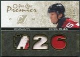 2007/08 Upper Deck OPC Premier Remnants Triples Patches #PRPE Patrik Elias 22/35