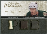 2007/08 Upper Deck OPC Premier Remnants Triples Patches #PRPI Pierre-Marc Bouchard /35