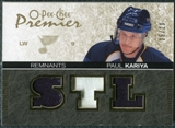 2007/08 Upper Deck OPC Premier Remnants Triples Patches #PRPK Paul Kariya /20