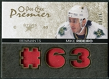 2007/08 Upper Deck OPC Premier Remnants Triples Patches #PRRI Mike Ribeiro /35