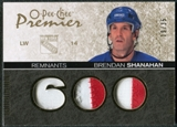 2007/08 Upper Deck OPC Premier Remnants Triples Patches #PRSH Brendan Shanahan /35