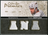 2007/08 Upper Deck OPC Premier Remnants Triples Patches #PRTB Todd Bertuzzi /35