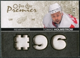 2007/08 Upper Deck OPC Premier Remnants Triples Patches #PRTH Tomas Holmstrom /35