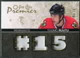 2007/08 Upper Deck OPC Premier Remnants Triples Patches #PRTR Tuomo Ruutu /35