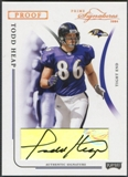 2004 Playoff Prime Signatures #6 Todd Heap Signature Proofs Bronze Auto #127/150