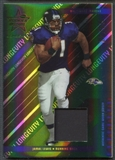 2004 Leaf Rookies and Stars Longevity #8 Jamal Lewis Materials Emerald Jersey #22/25