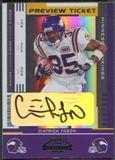 2005 Leaf Limited Contenders #121 Ciatrick Fason Preview Auto #03/25