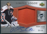 2005/06 Upper Deck The Cup Limited Logos #LLRE Robert Esche Autograph 39/50