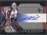 2005/06 Upper Deck Trilogy #SFSDA David Aebischer Scripts Auto