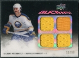 2009/10 Upper Deck UD Black Jerseys Black Ice #QJGP Gilbert Perreault /50