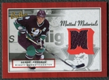 2005/06 Upper Deck Beehive Matted Materials #MMSF Sergei Fedorov