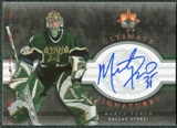 2006/07 Upper Deck Ultimate Collection Signatures #USMT Marty Turco Autograph