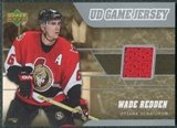 2006/07 Upper Deck Game Jerseys #JWR Wade Redden