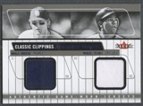 2005 Classic Clippings #GT Khalil Greene & Miguel Tejada Jersey Rack Dual Blue Jersey