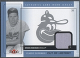 2005 Classic Clippings #BR Brooks Robinson Cut of History Jersey