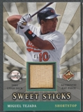 2004 Sweet Spot #TE Miguel Tejada Sweet Sticks Bat #067/199