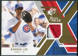 2009 Upper Deck SPx Game Patch #GJDL Derrek Lee /99
