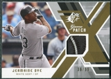 2009 Upper Deck SPx Game Patch #GJJD Jermaine Dye /99