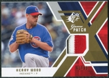 2009 Upper Deck SPx Game Patch #GJKW Kerry Wood /99