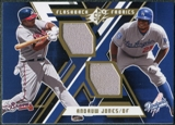 2009 Upper Deck SPx Flashback Fabrics #FFAJ Andruw Jones