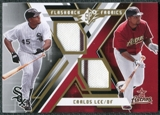 2009 Upper Deck SPx Flashback Fabrics #FFCL Carlos Lee