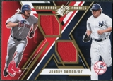 2009 Upper Deck SPx Flashback Fabrics #FFDA Johnny Damon