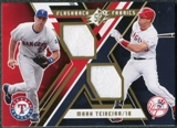 2009 Upper Deck SPx Flashback Fabrics #FFMT Mark Teixeira