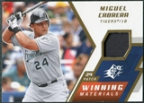 2009 Upper Deck SPx Winning Materials Patch #WMMC Miguel Cabrera /99